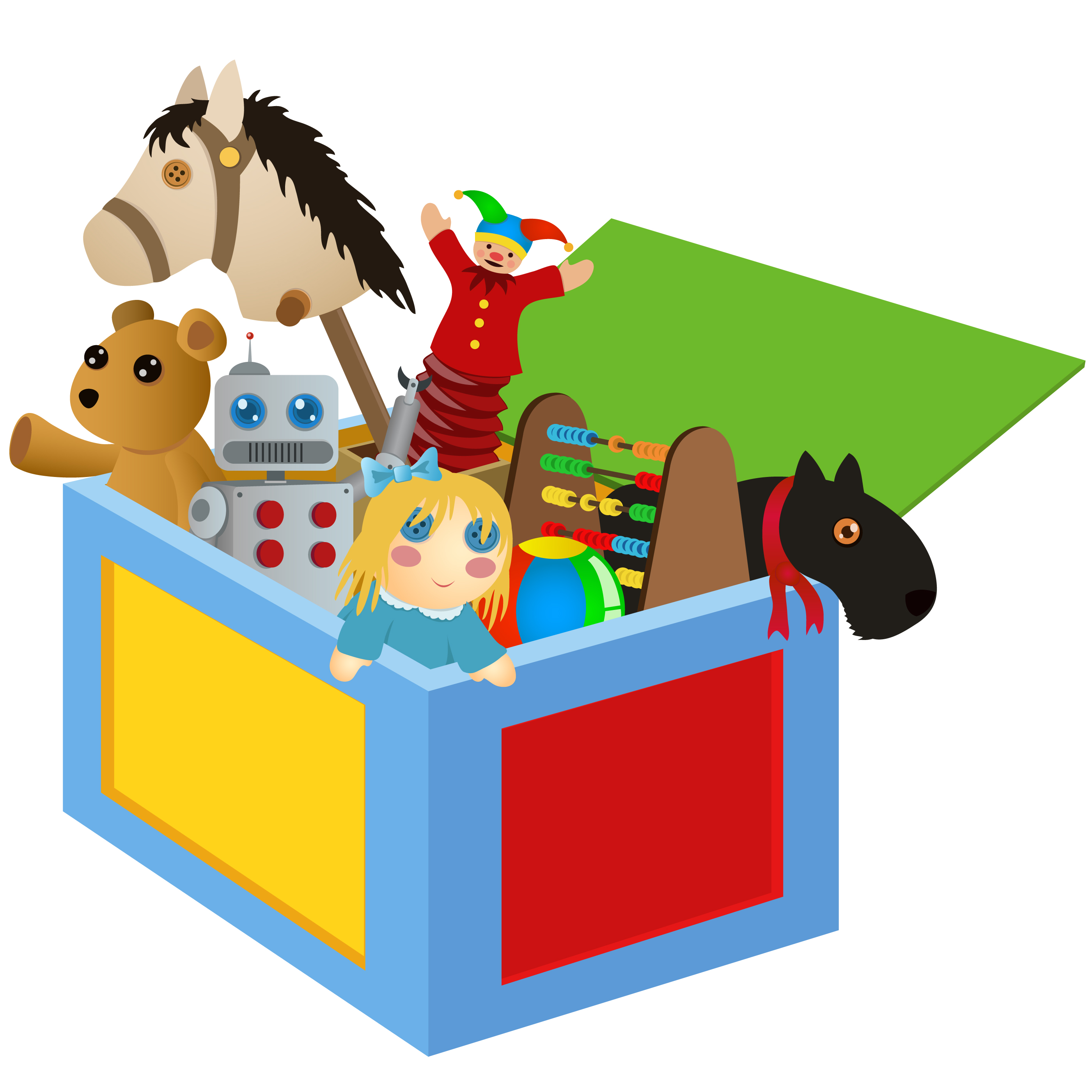 toys clipart toy chest