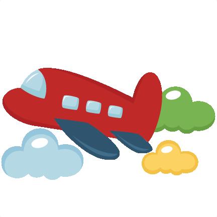 Toy airplane svg.