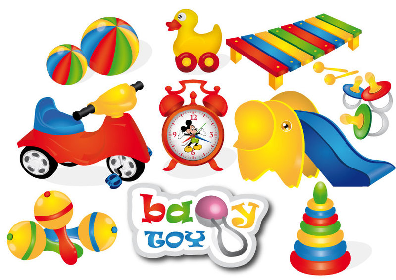 Free toys cliparts.