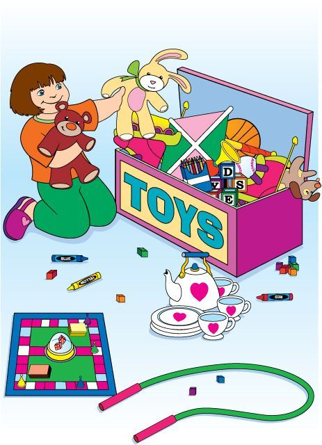 Awesome tidy toys.