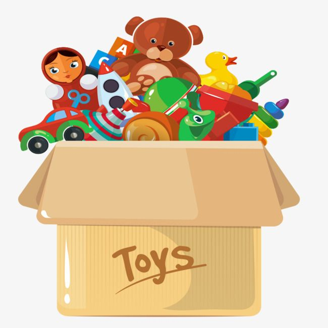 Lovely toy box.
