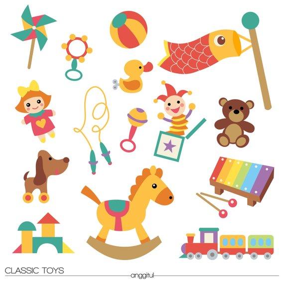 Classic kids toys.