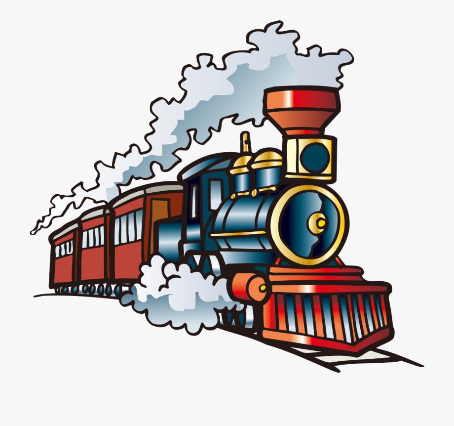 Steam Engine Train Clipart