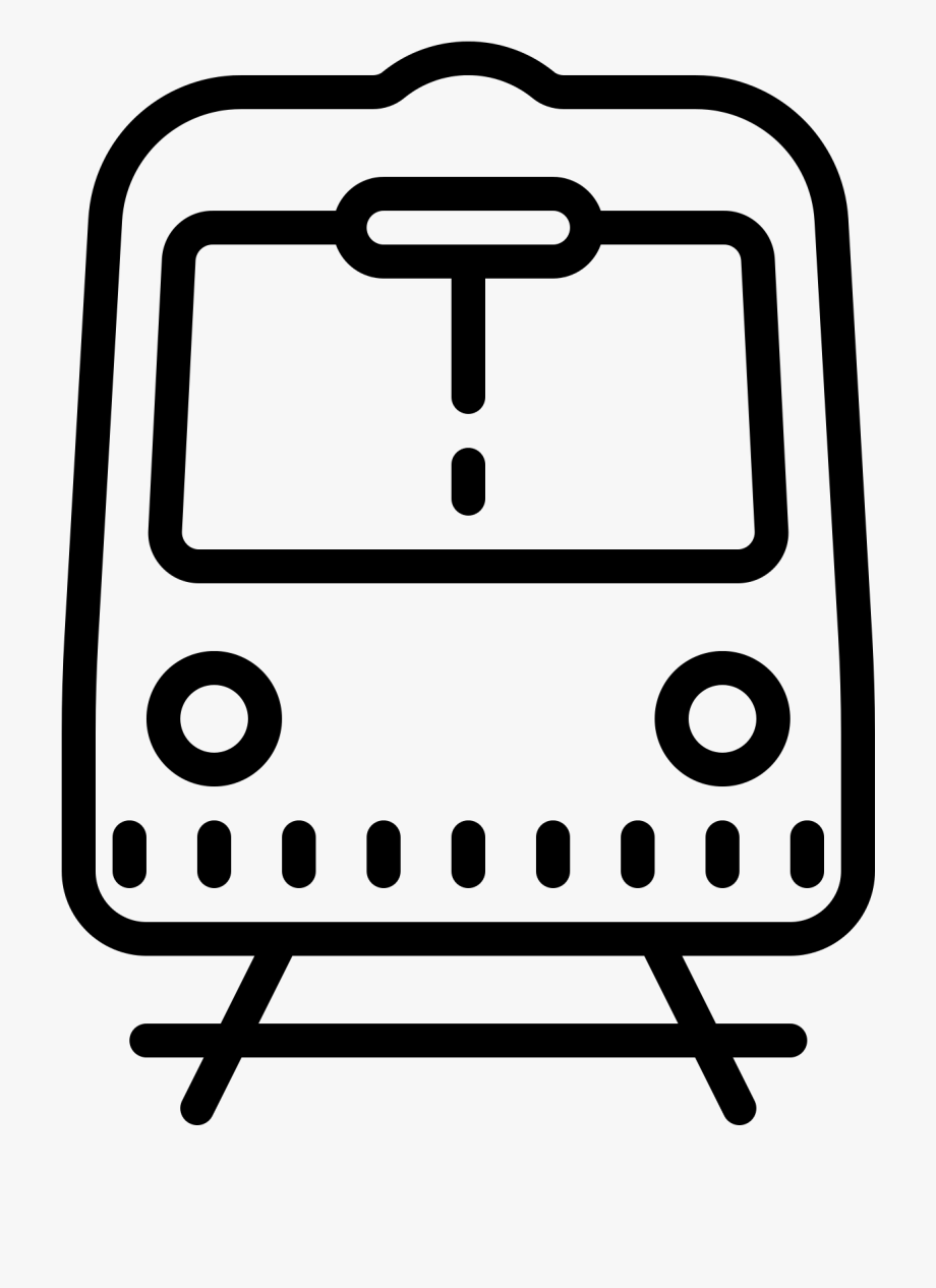 Subway clipart front.
