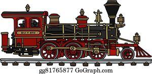 Steam locomotive clip.