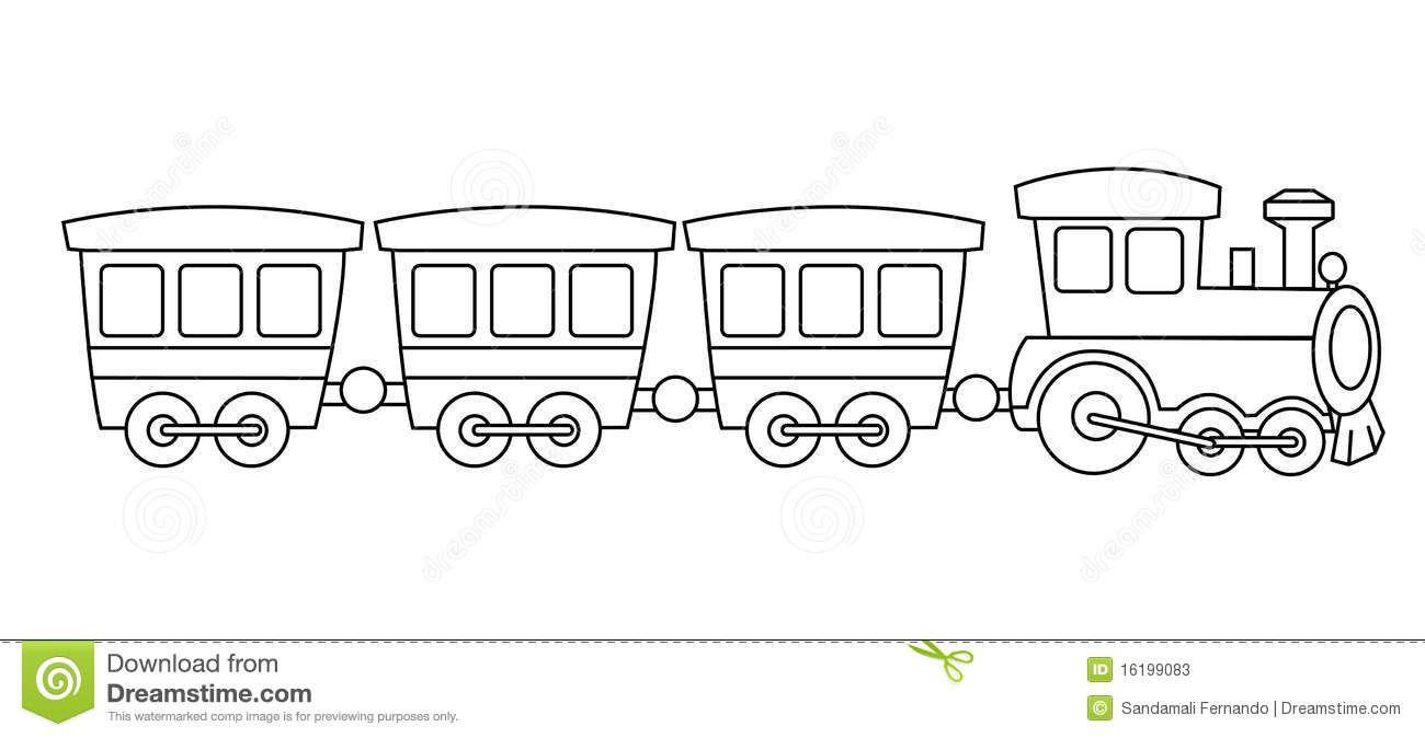Toy train stock.