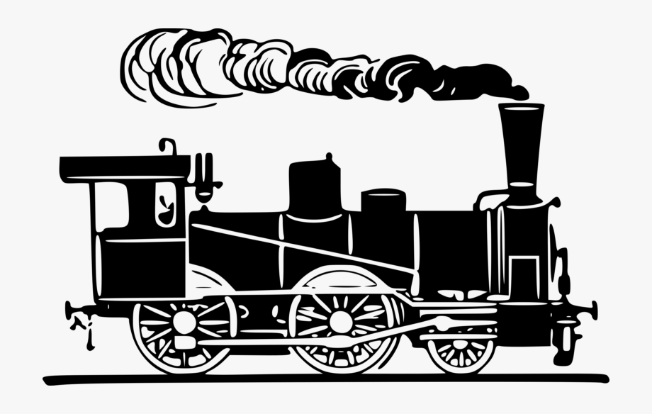 Cloud clipart train.