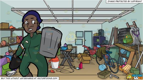 Black female sanitation.