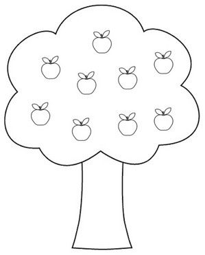 Clipart apples and.