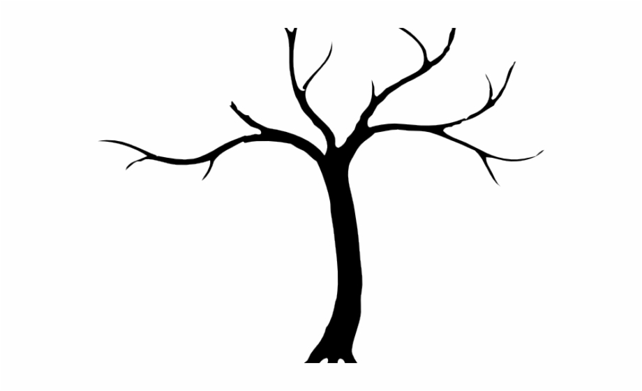 Dead tree clipart.