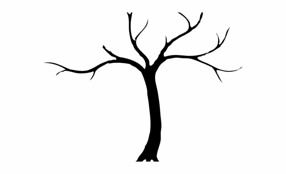 Dead Tree Clipart Silhouette