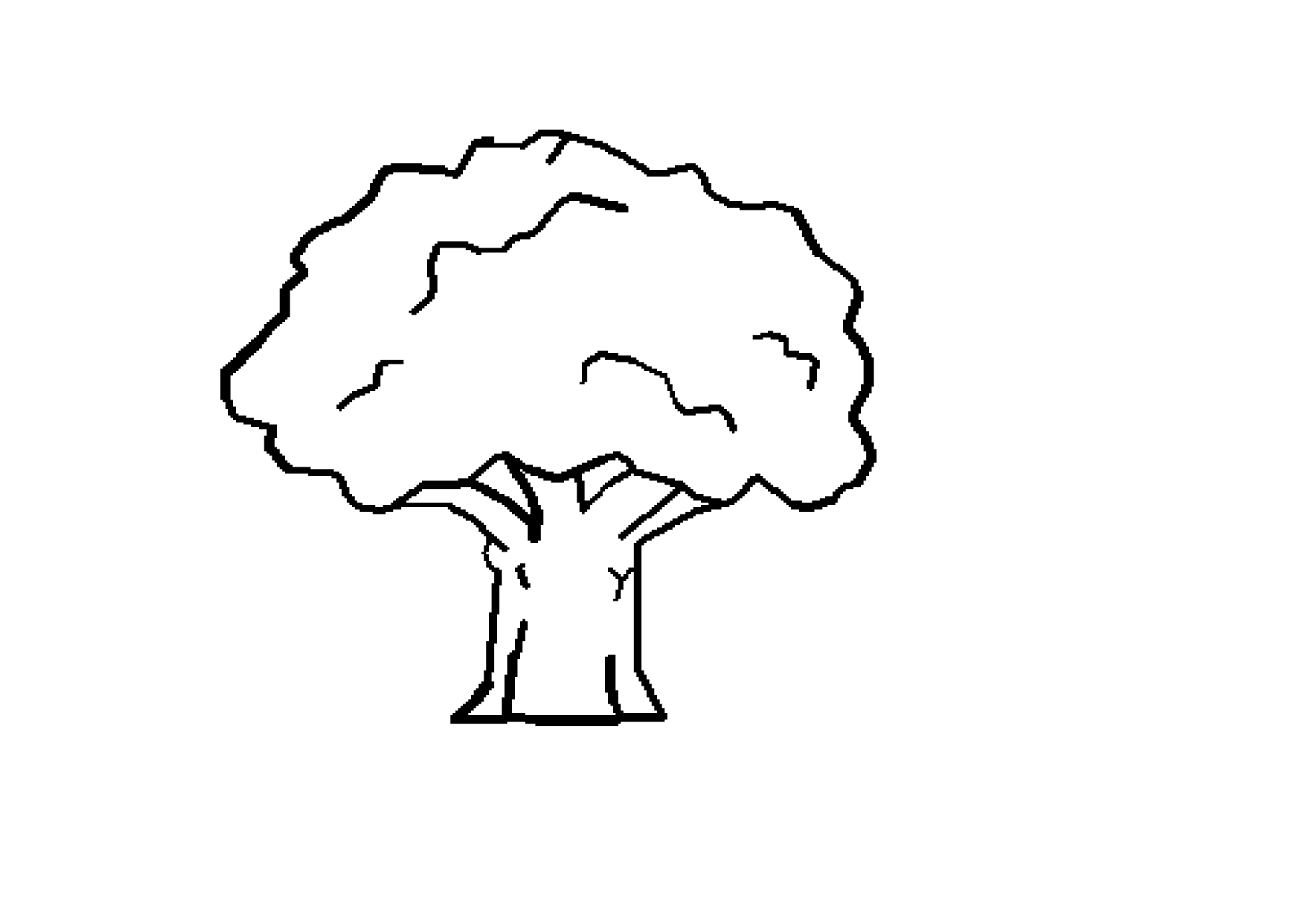 Free Tree Drawings Black And White, Download Free Clip Art