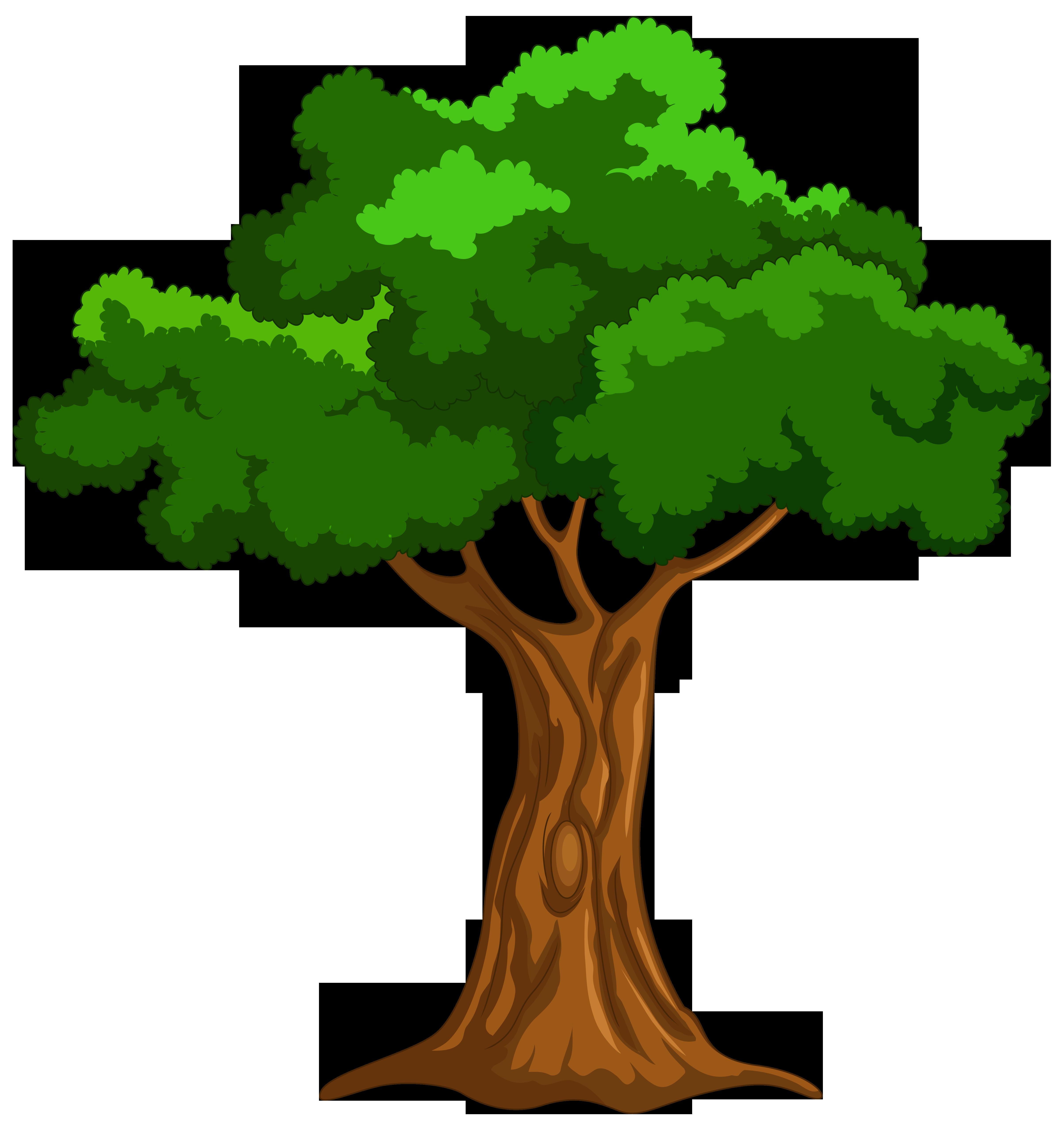 Cartoon Tree PNG Clip Art