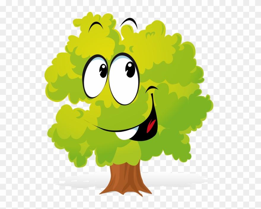 Free Cartoon Tree Clipart