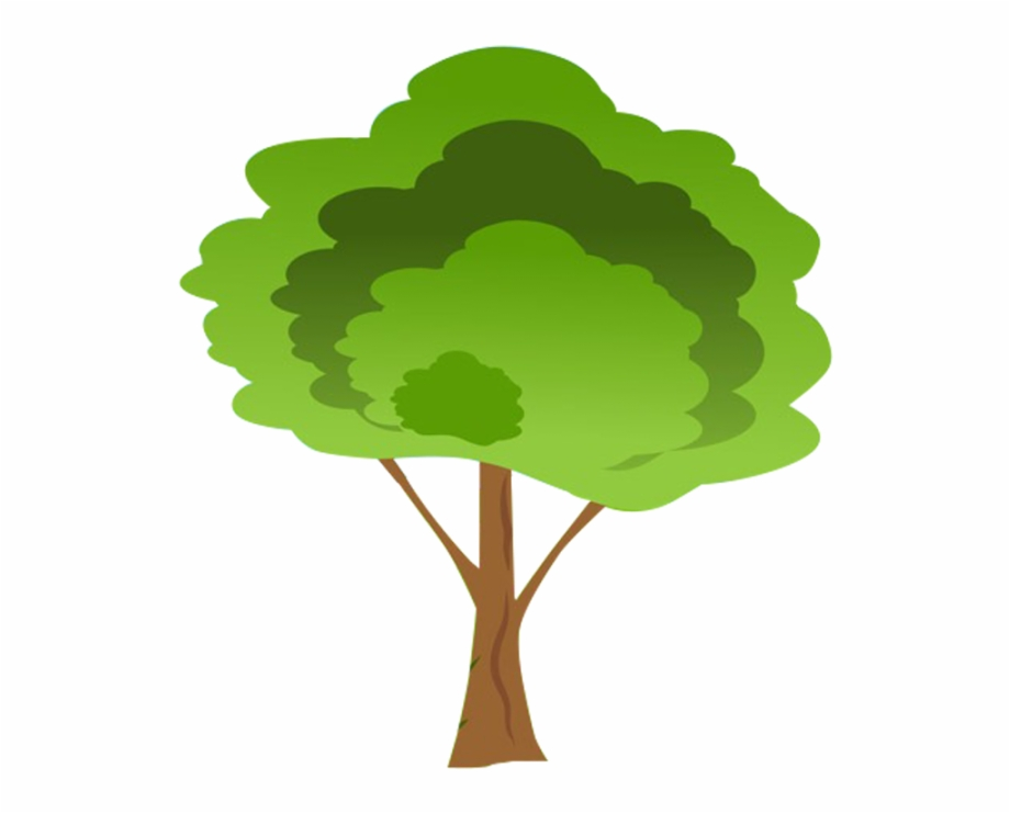 Free Cartoon Tree Transparent Background, Download Free Clip