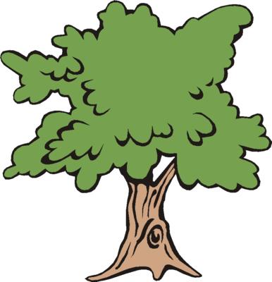 Cute tree clip art