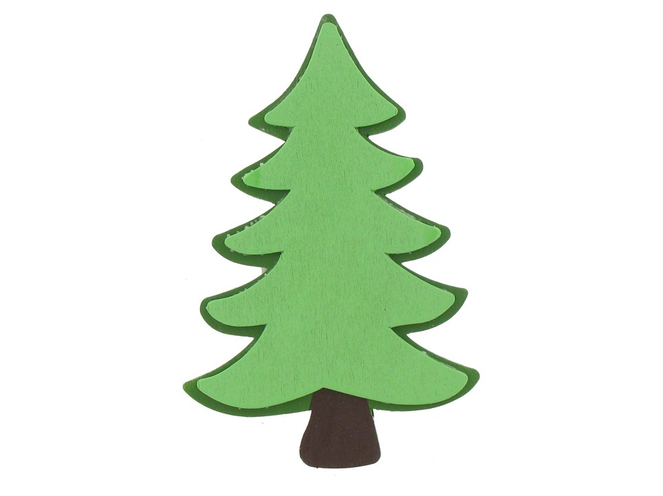 Free evergreen tree.