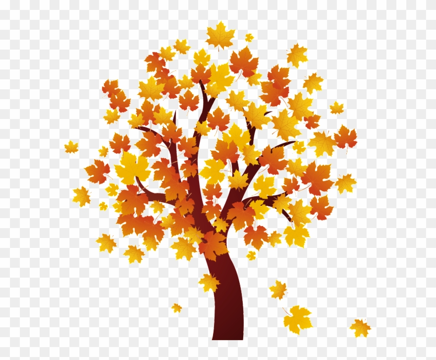 Fall tree clip.