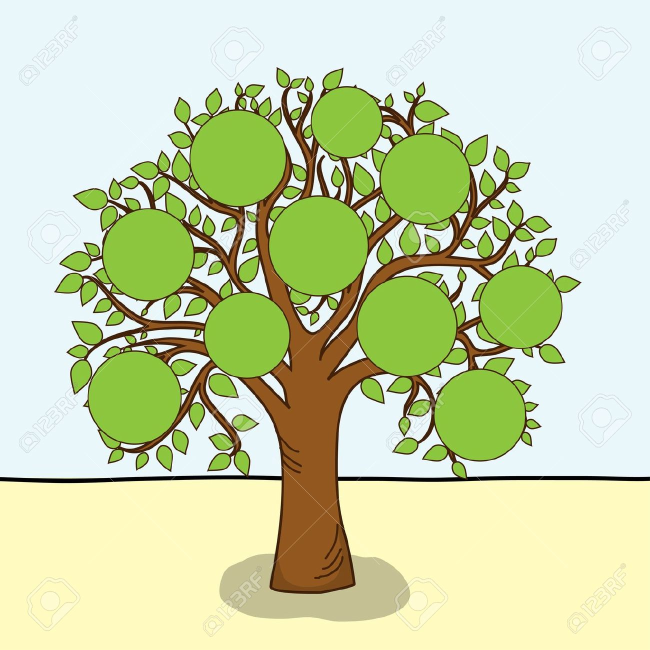 Family tree clipart clipart cliparts for you