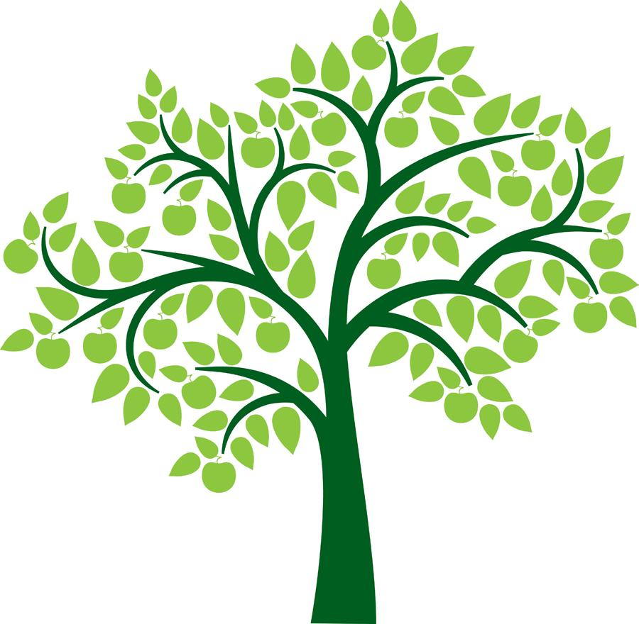 Family Reunion Tree Clipart