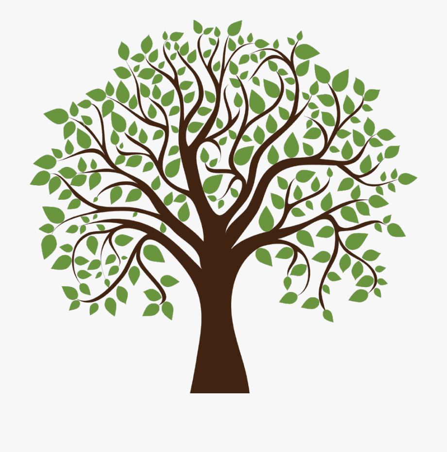 Family tree clipart.