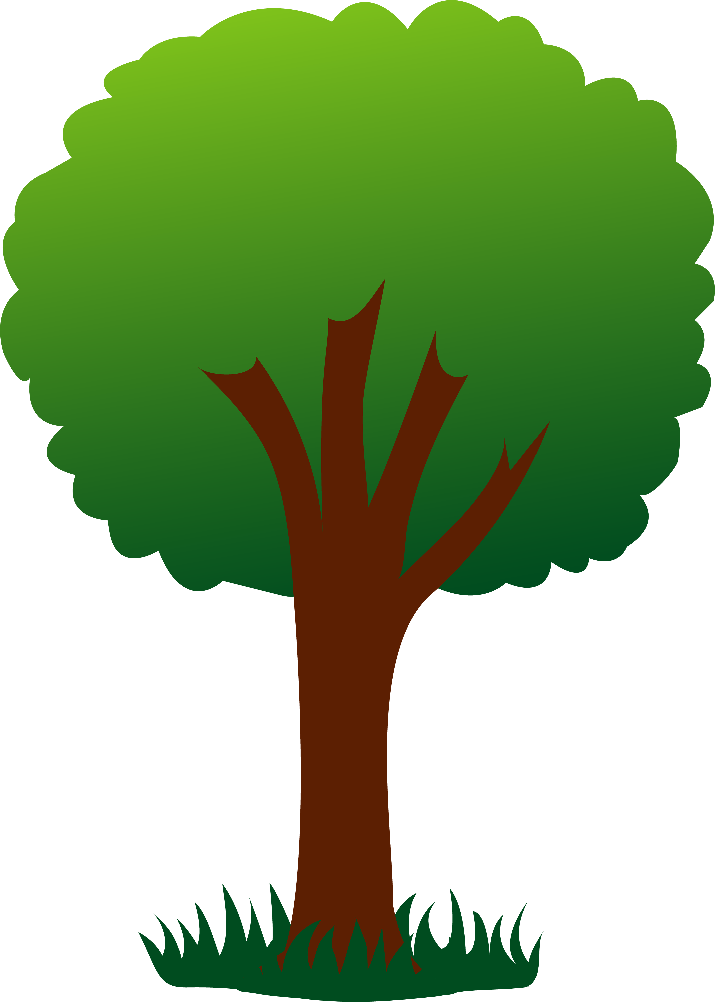 Free Green Tree Cliparts, Download Free Clip Art, Free Clip