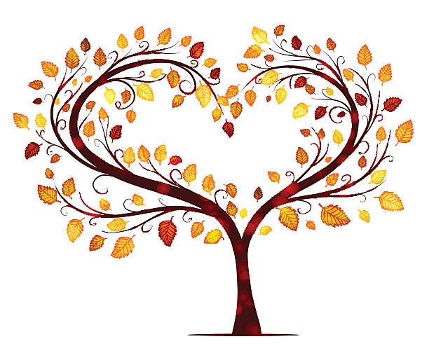 Heart tree clipart