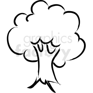 Tree clipart royaltyfree.