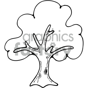 Tree outline image clipart