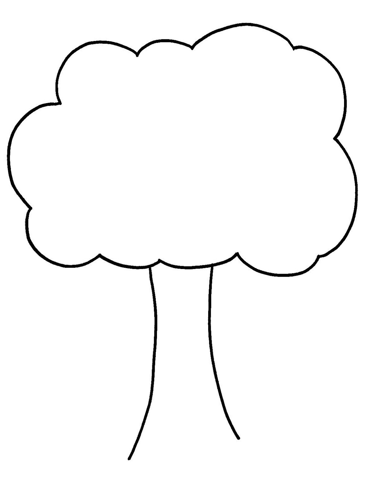 Free Outline Of Trees, Download Free Clip Art, Free Clip Art