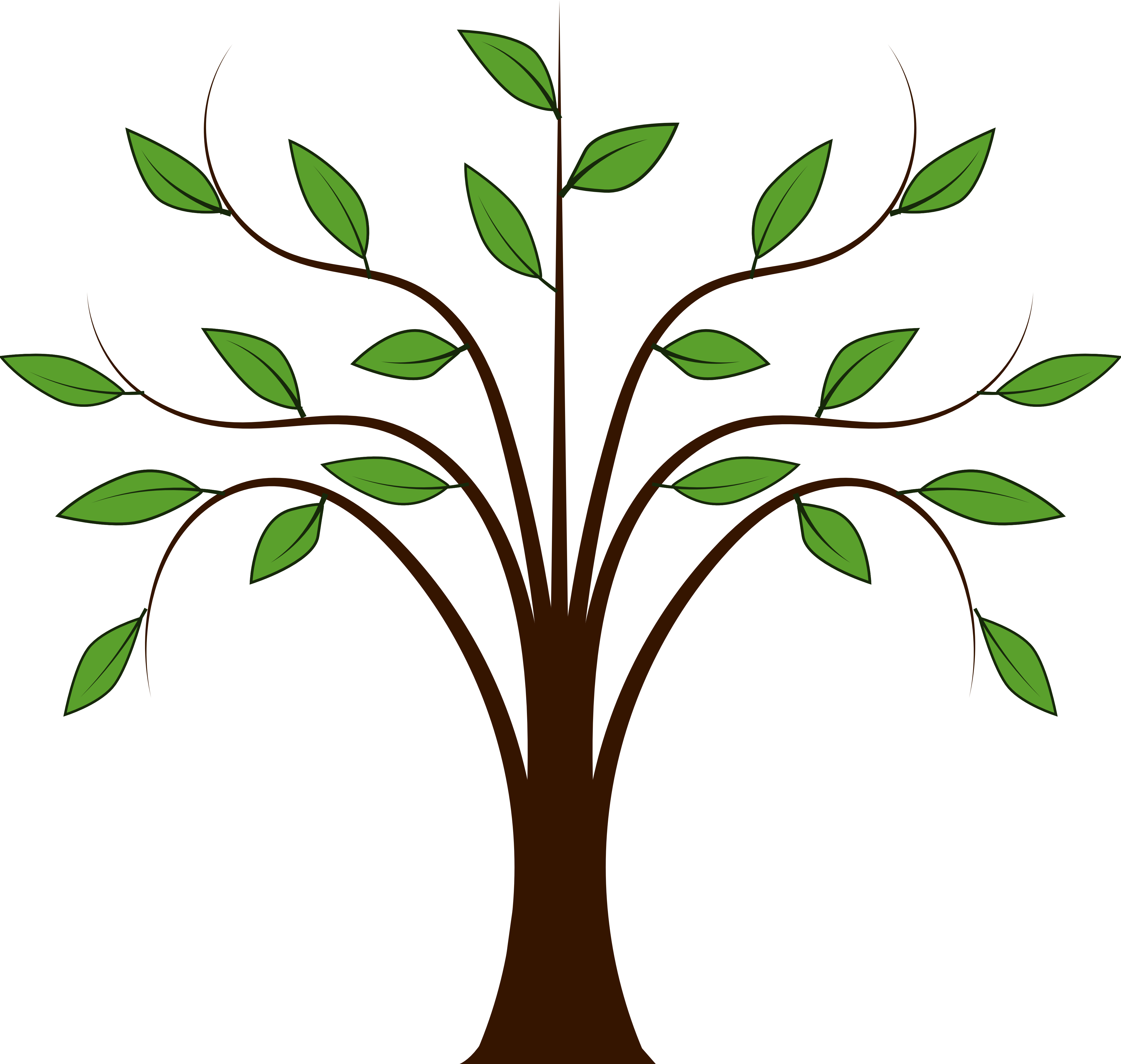 Simple Tree ClipArt free image