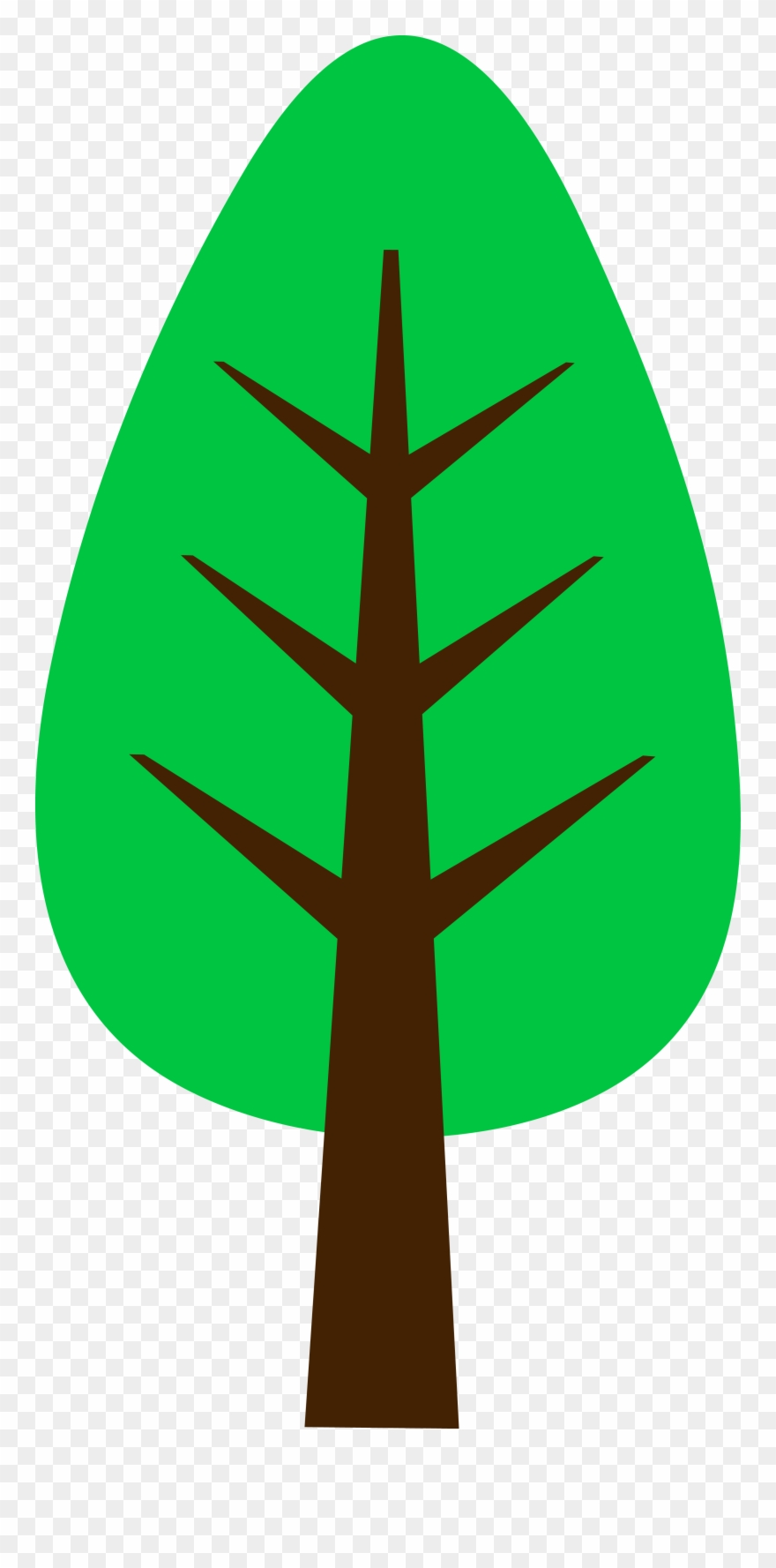 Simple tree clipart.