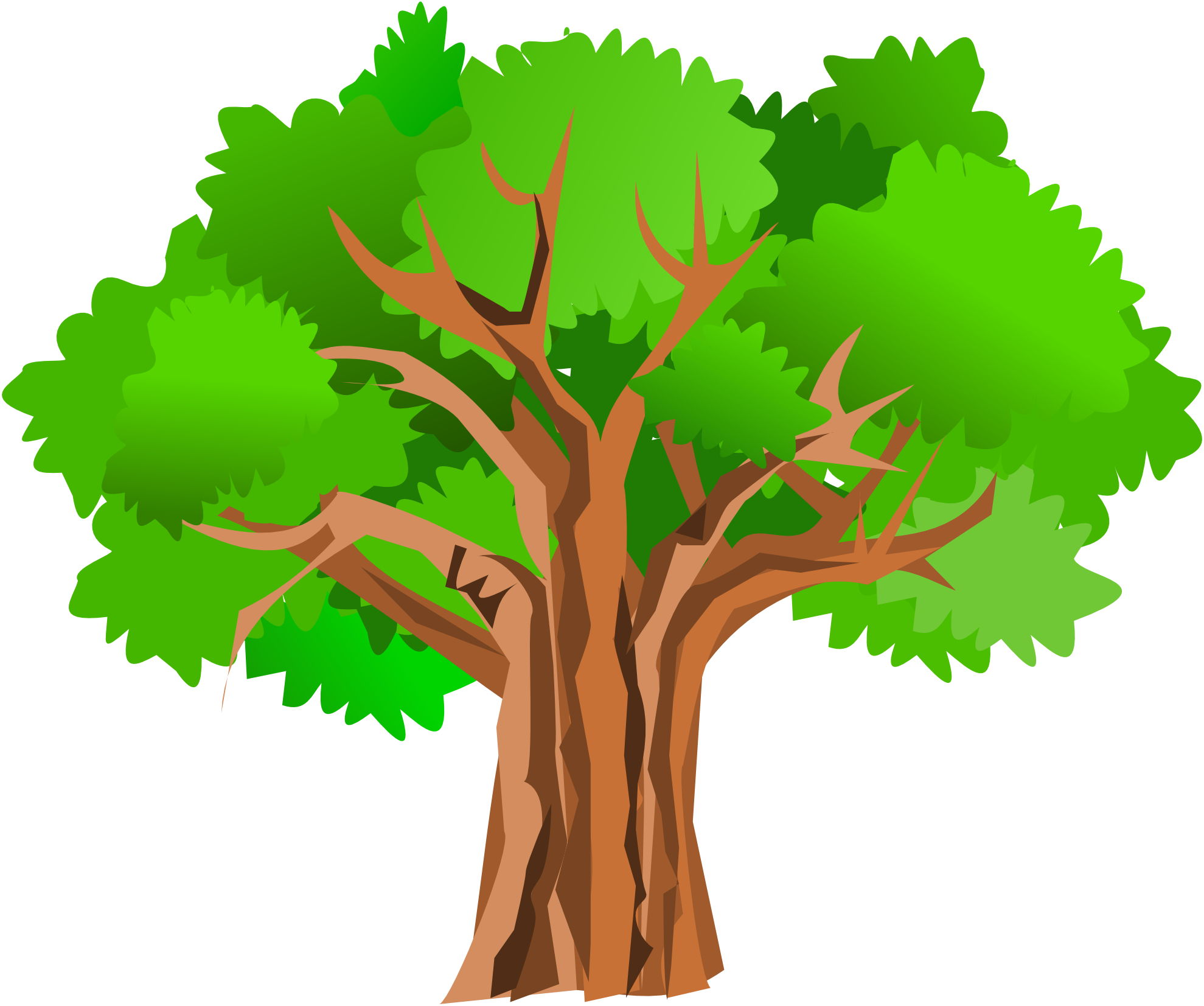 Clipart summer tree, Clipart summer tree Transparent FREE