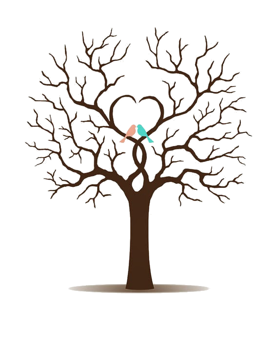 Tree clipart wedding.