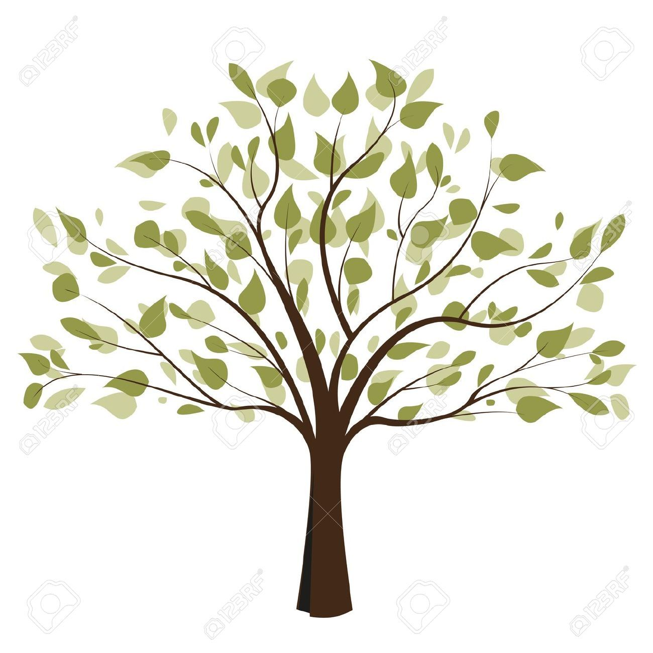 Tree Of Life Black And White Clipart