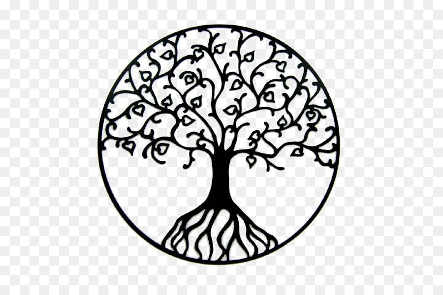 Drawing tree life.
