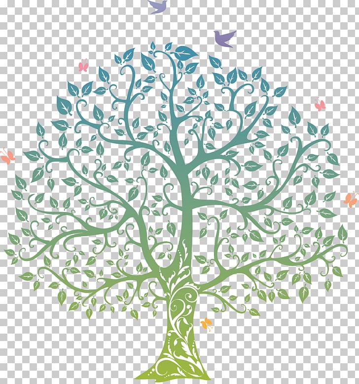 Tree life drawing.