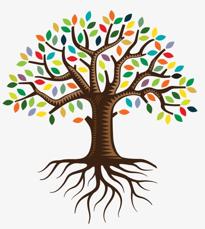 Root family tree.