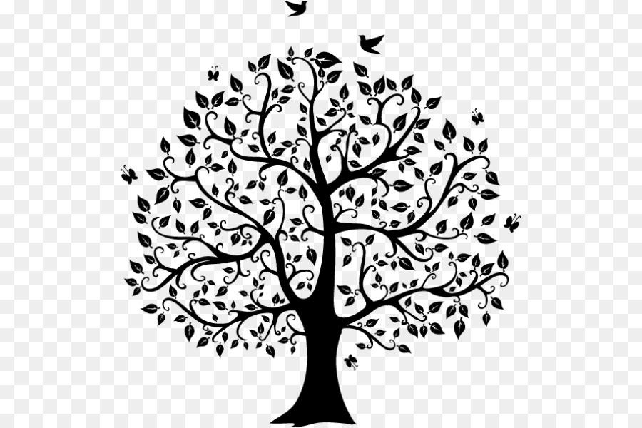 Vector illustration tree.