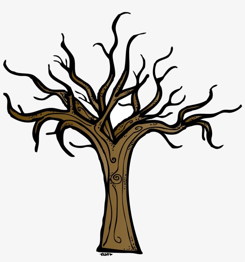 Dead tree trunk.