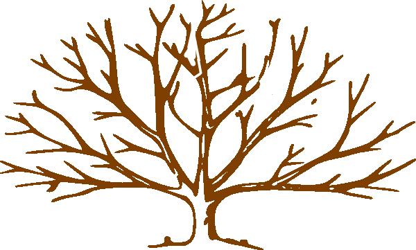 Bare tree trunk.