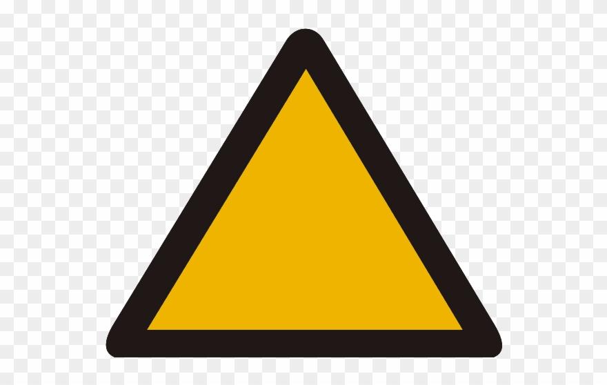 Flashing warning sign.