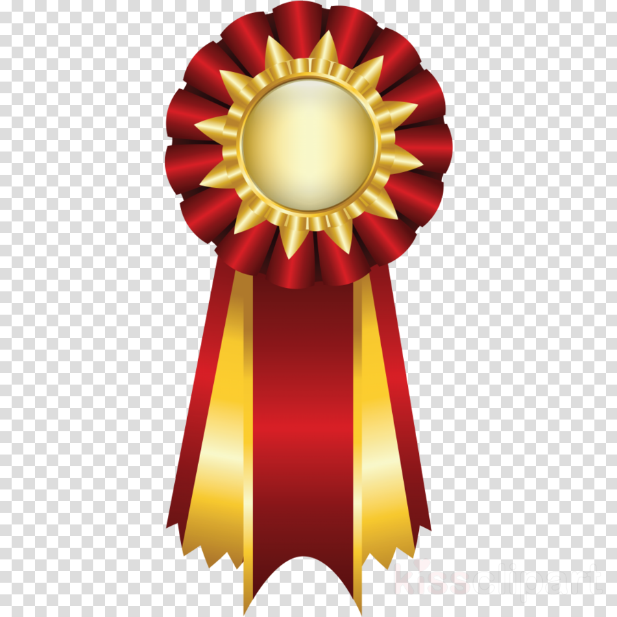 Trophy clipart ribbon.