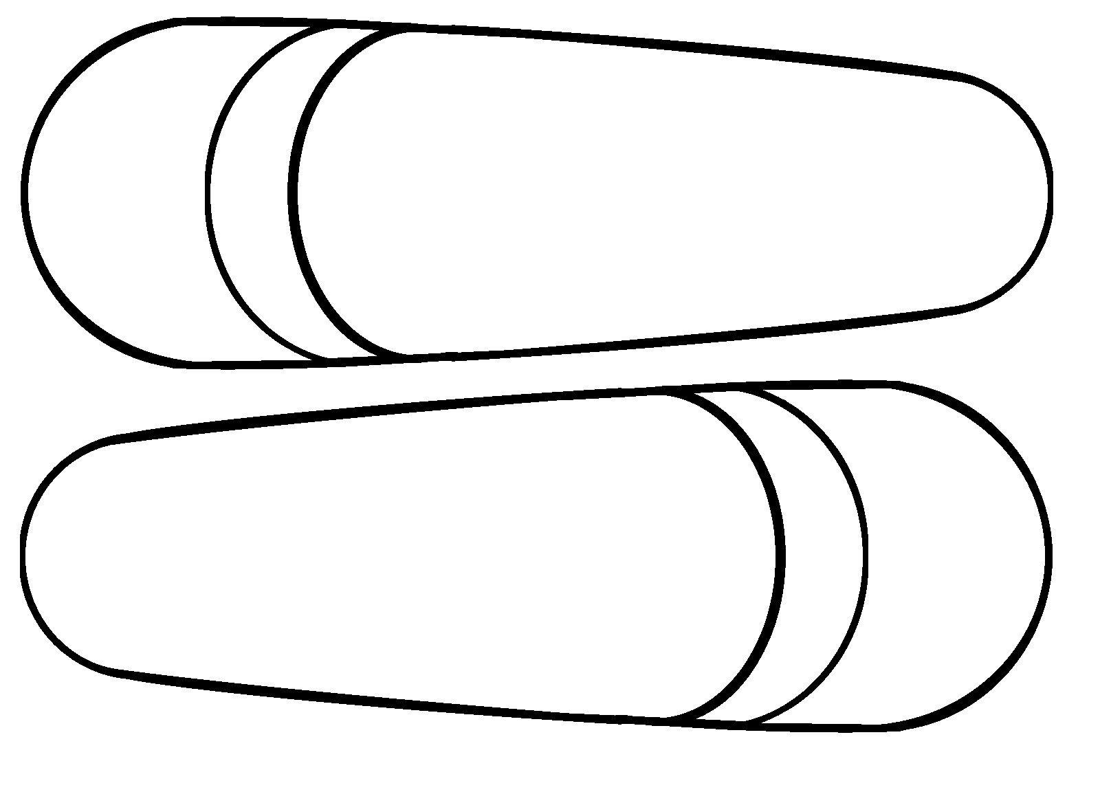 feather clipart blank