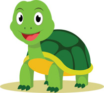 turtle clipart animated