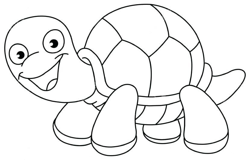 Turtle clipart black.