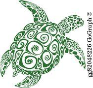 Sea turtle clip.