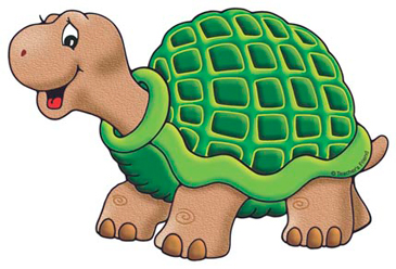 Turtle clipart printable.