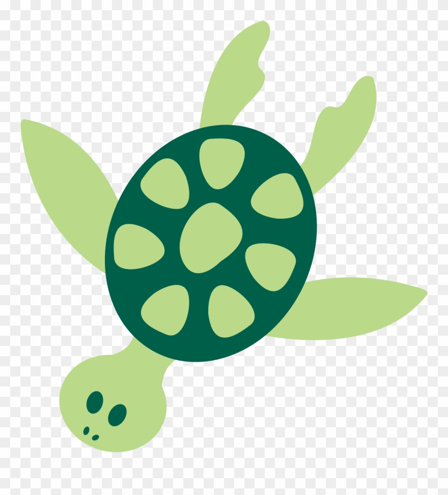 turtle clipart simple