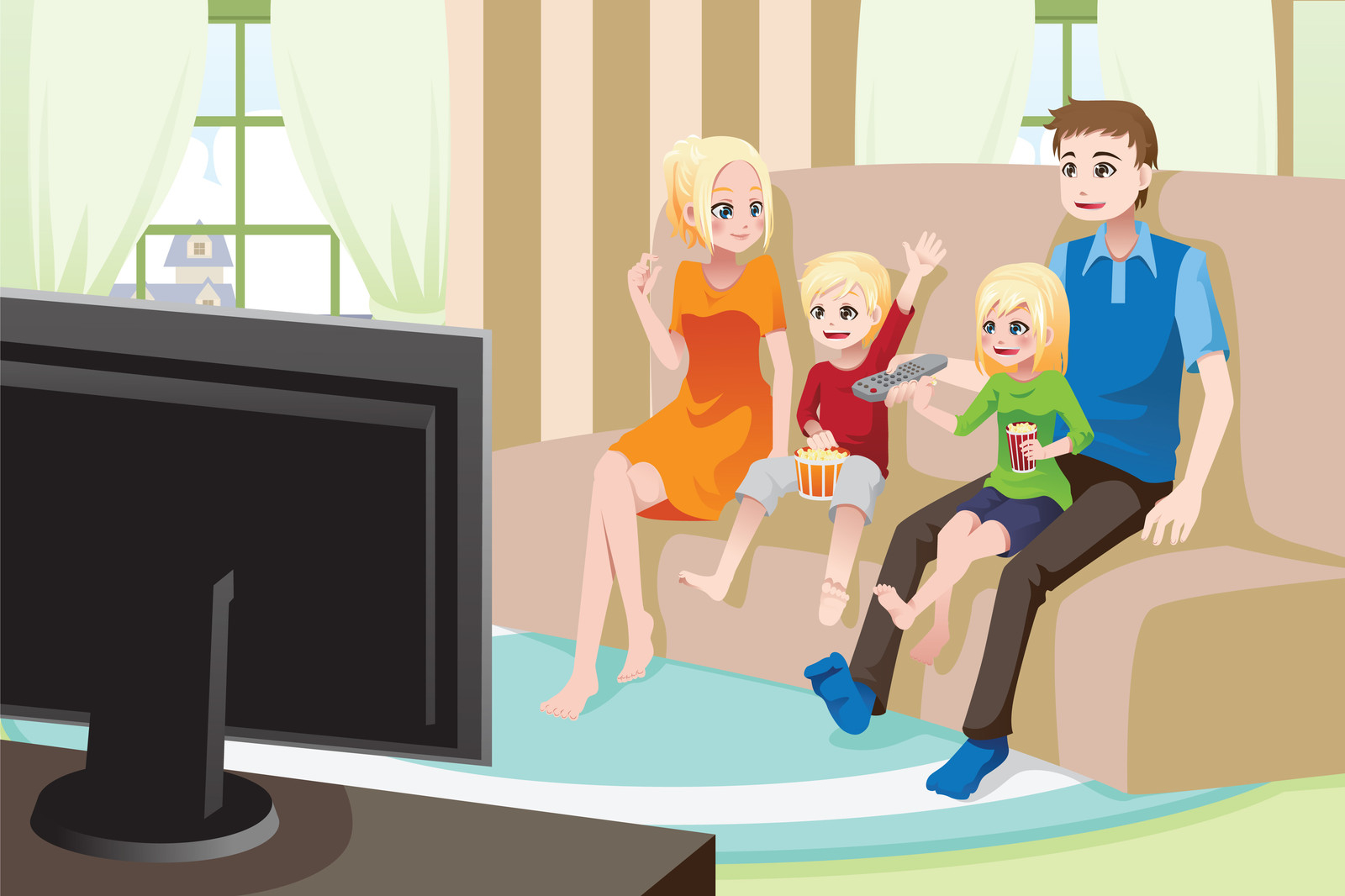Watching kids watch.